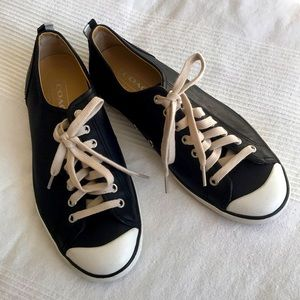 Coach Alex Leather Sneakers Size 9B